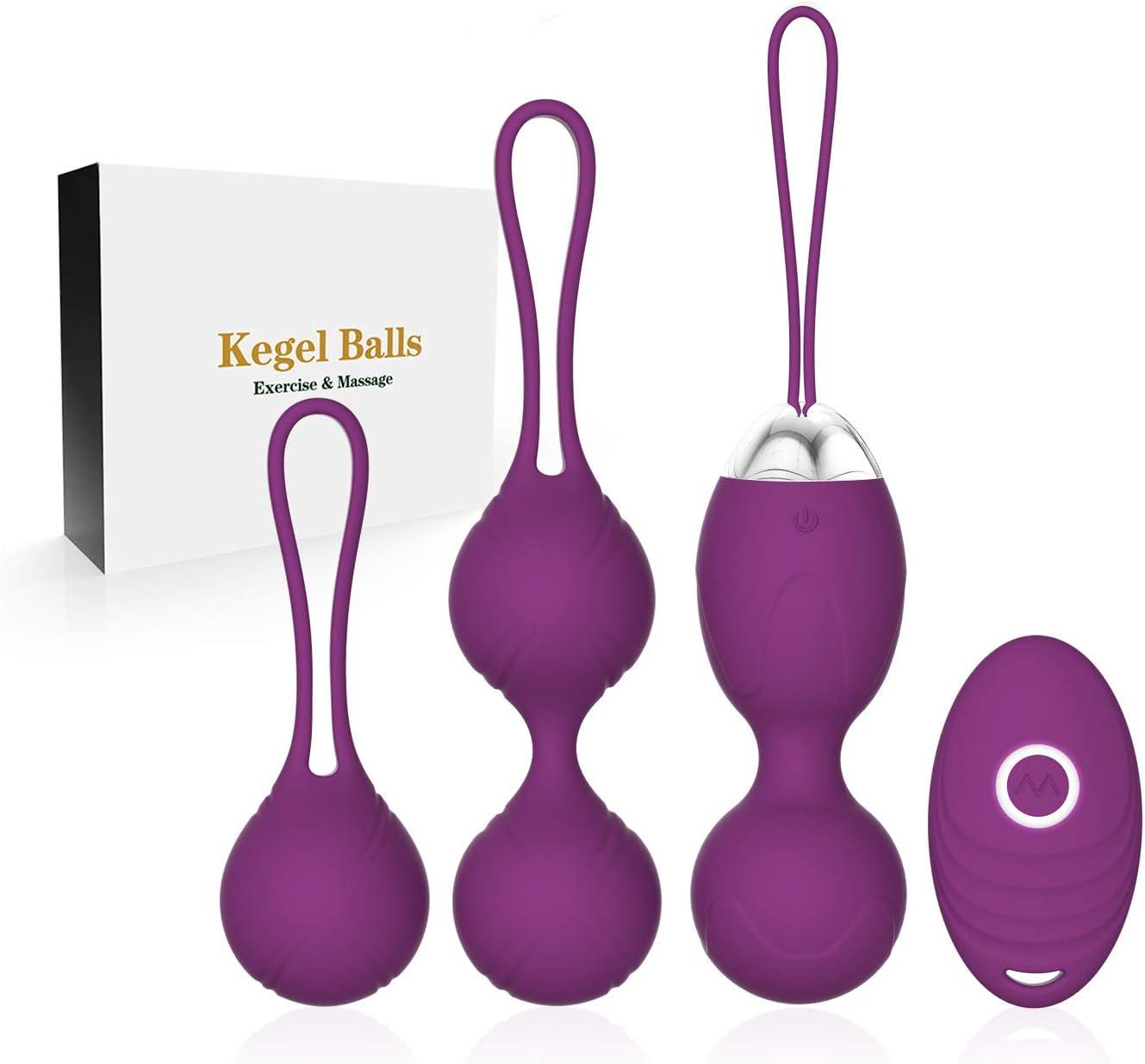 ACVIOO® Bolas Chinas Suelo Pelvico de la Salud Masajeador Kegel Ejercitador Kegel Bolas para Mujer
