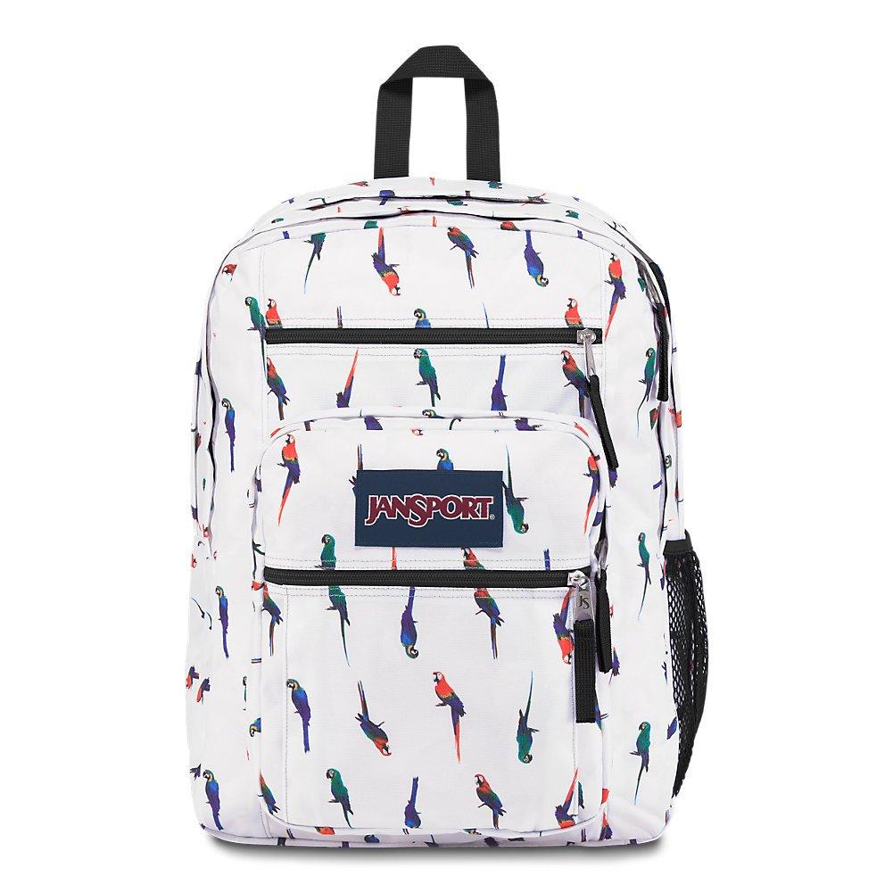 JanSport Big Student Backpack - Macaws - Oversized