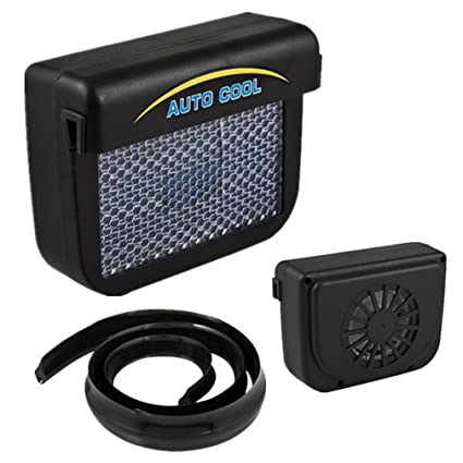 Amazon com : Solar Sun Power Car Auto Air Vent Cool Fan