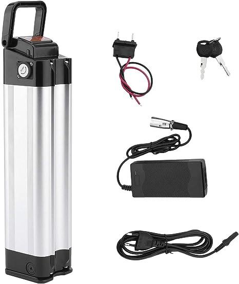 Pudincoco Batería de Bicicleta eléctrica 36V 10AH 360W E-Bike Batería de Iones de Litio con Cargador Kit de conversión de Bicicleta eléctrica de Alta Potencia: Amazon.es: Deportes y aire libre