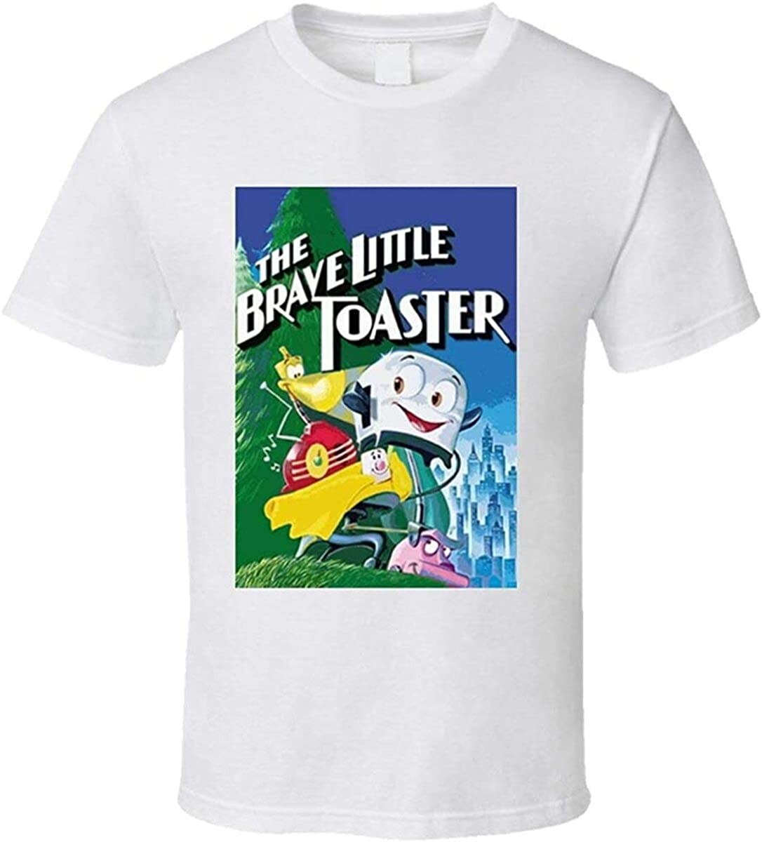 Gearsly Ringyu The Brave Little Toaster Cartoon Movie T Shirt Unisex T-Shirt for Men Women
