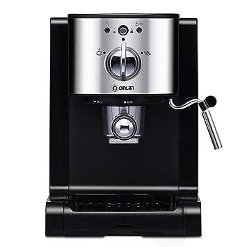 Máquina de café Cápsulas de estilo casero Toda la espuma de vapor comercial semiautomática: Amazon.es: Hogar