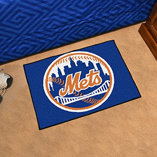 Fanmats New York Mets MLB Starter Floor Mat (20x30) (New Floor York Mets)