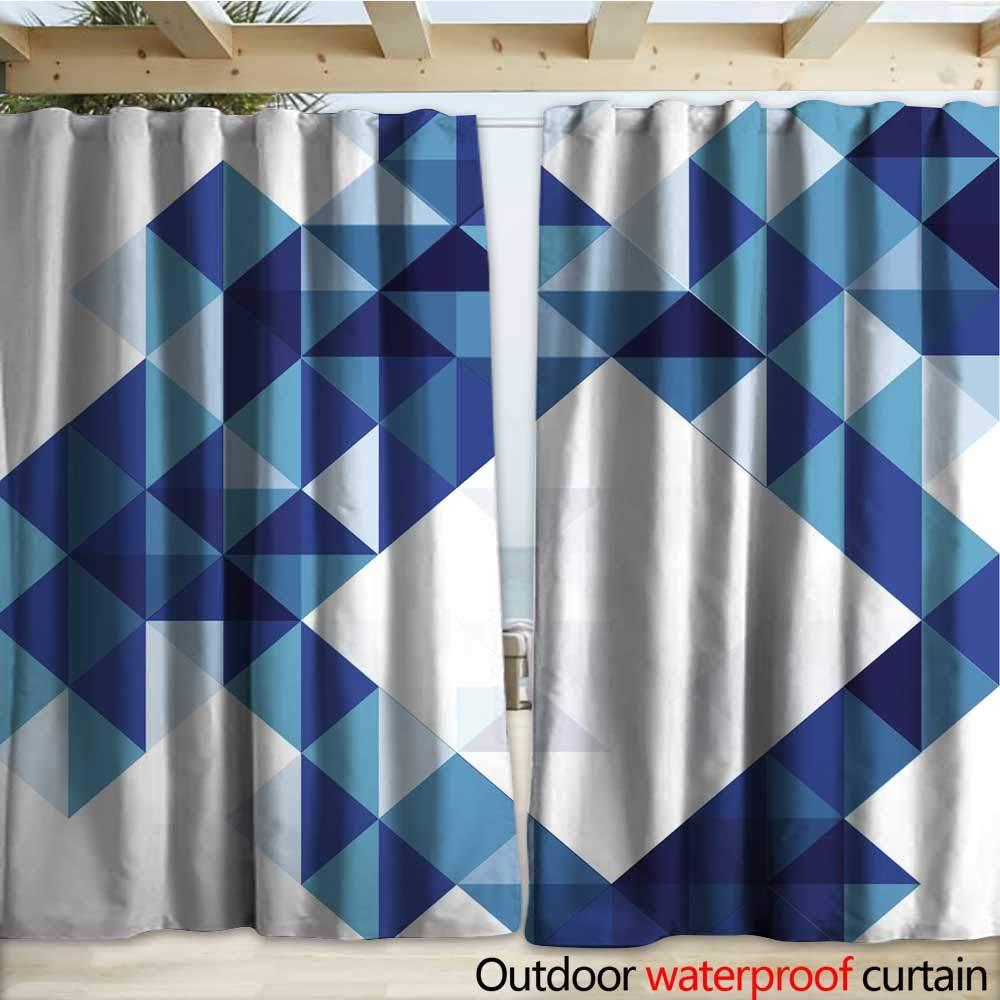 warmfamily - Cortina de Mosaico para Exteriores (108 x 96 cm ...