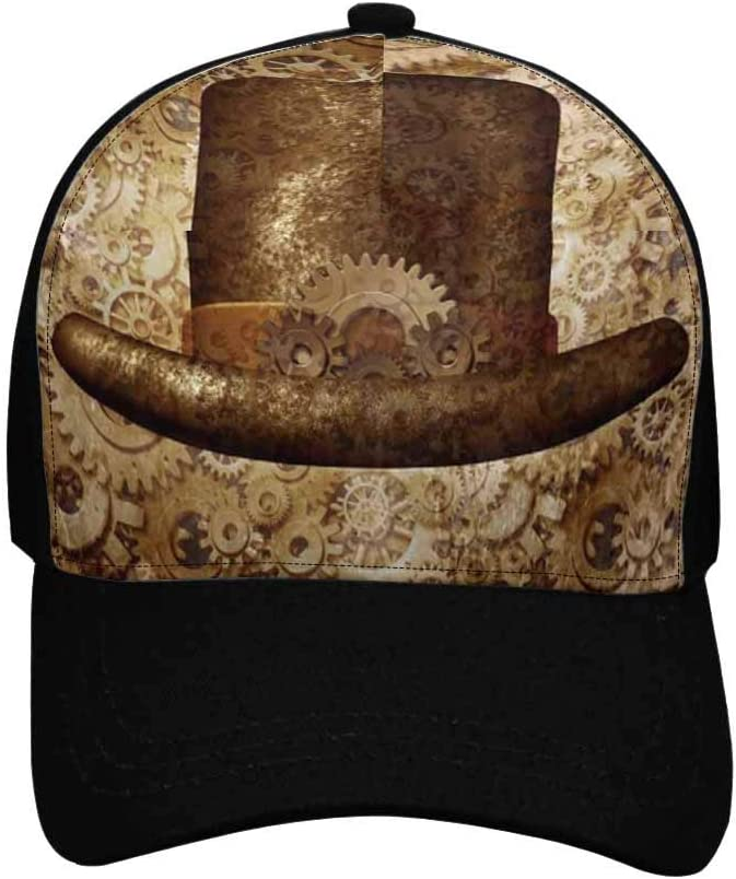 Fashion Vintage Hat Lovely Bouquet with Peony Adjustable Dad Hat Baseball Cowboy Cap
