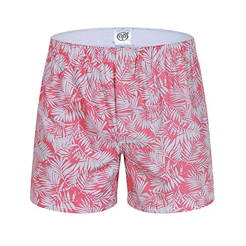 Designer Boxer Shorts (NXY Mens Designer Pants Boxer Shorts (pink, M))