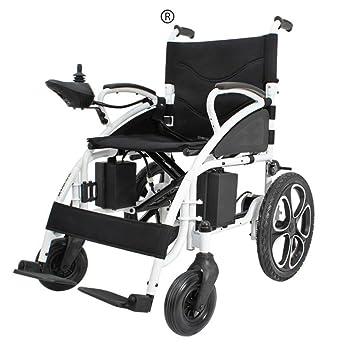 Amazon.com: NIGHT WALL silla de ruedas eléctrica portátil ...