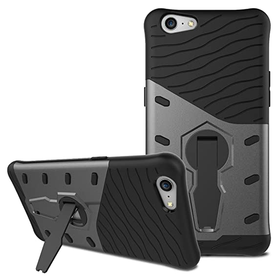 quality design 1abf2 c78ea Amazon.com: Oppo A57 Case, Oppo A57 Hybrid Case, Dual Layer ...