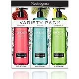 Neutrogena Rainbath Multi-Pack of 3, 1 Pear & Green Tea, 1 Pomegranate and 1 Ocean Mist, 16 fl oz bottles