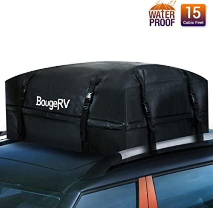 XCAR Soft Roof Top Cargo Bag With Storage Sack and Rain Cover 11 cubic feet