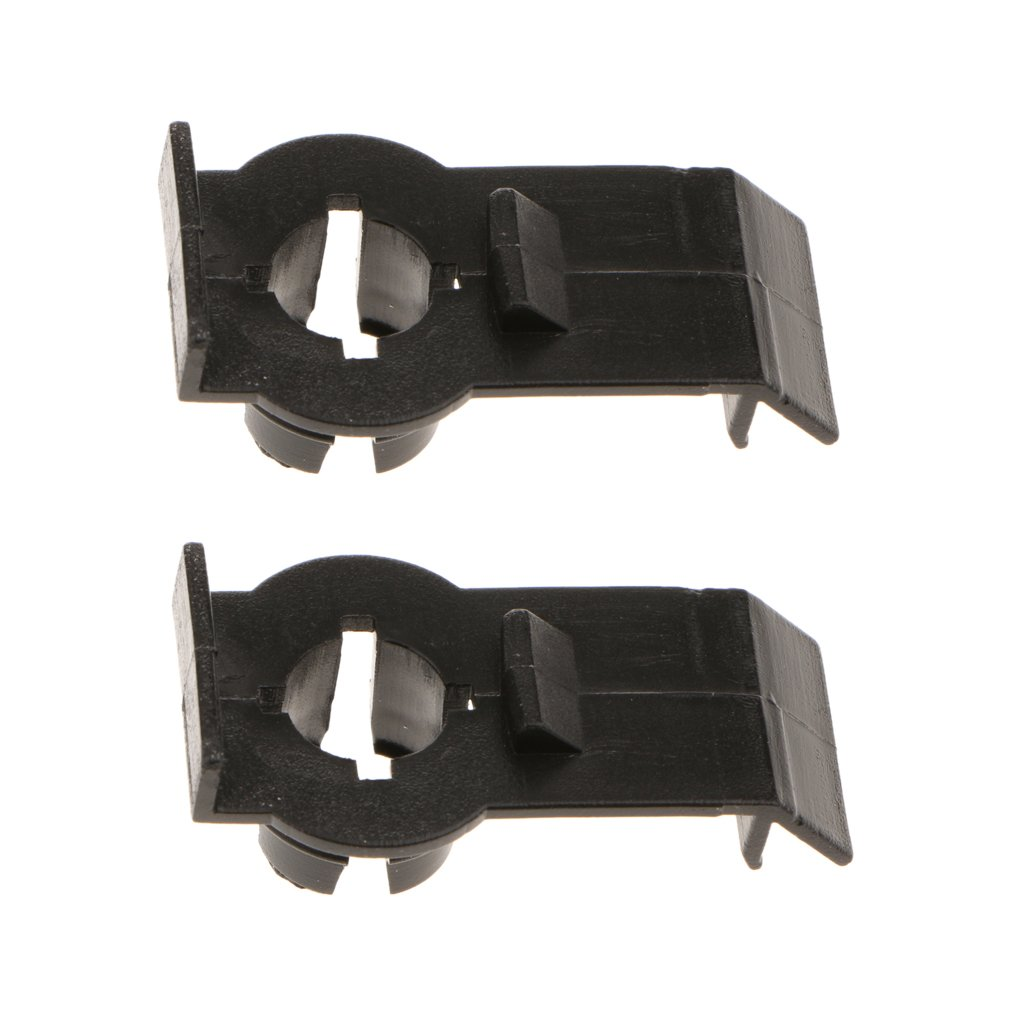 MagiDeal Pair Front Window Regulator Guide Clips for BMW X5 E53 OEM#51338254781 High Quality non-brand