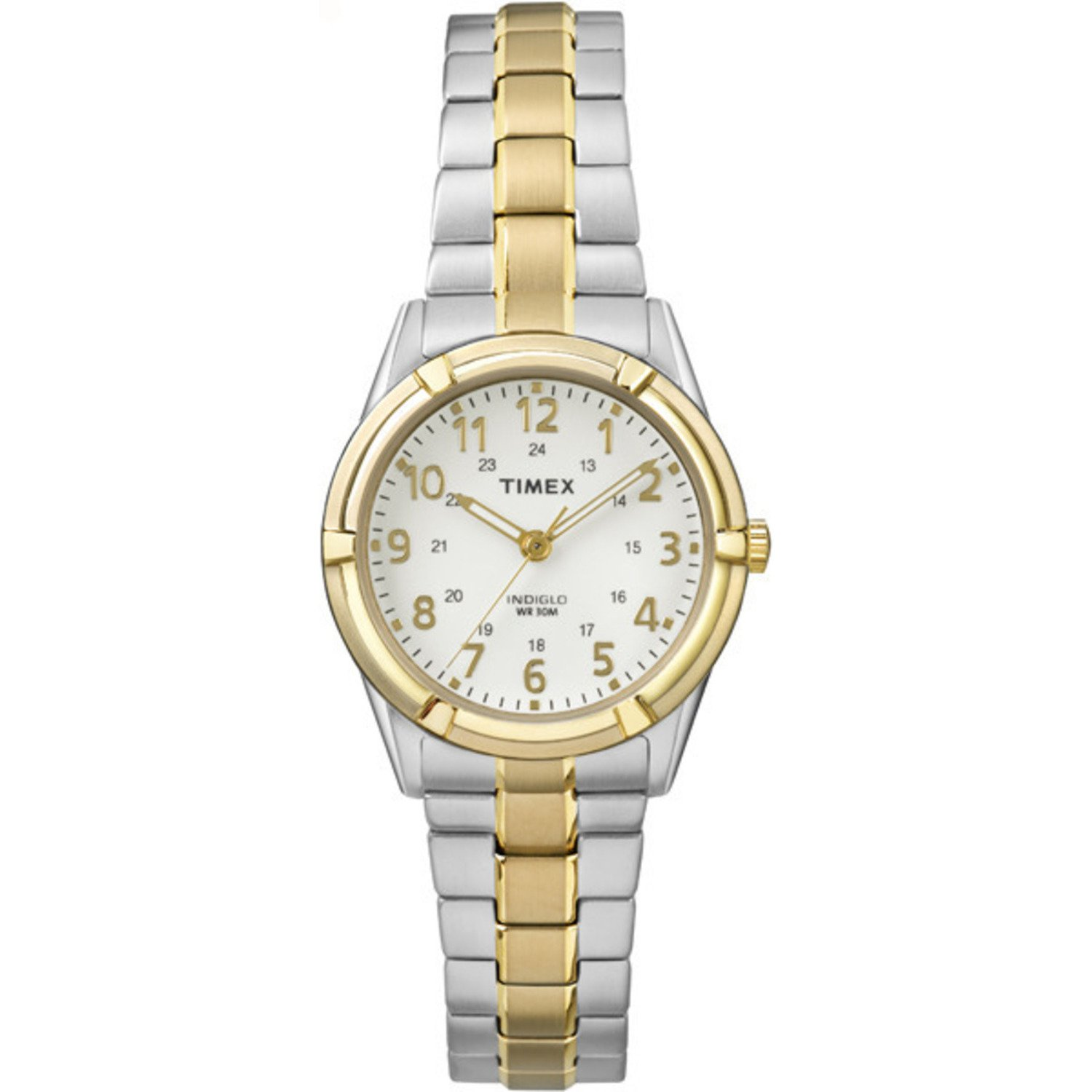 Timex Women s TW2P89000 Easton Avenue Two-Tone Stainless Steel Expansion Band Watch