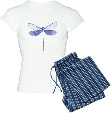 CafePress Dragonfly Pajamas Womens PJs