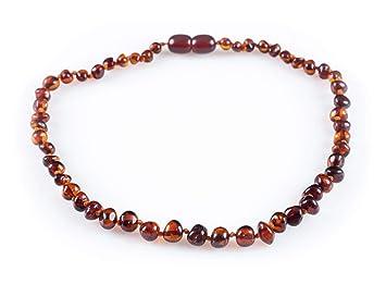 Amazon Com Throwinstones Baltic Amber Teething Necklace For Babies