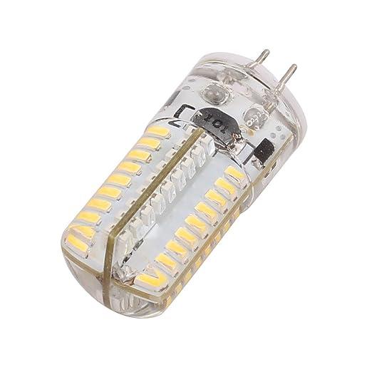 Aexit AC / DC 12V 3W G4 3014SMD Bombilla LED 72-LED Lámpara ...
