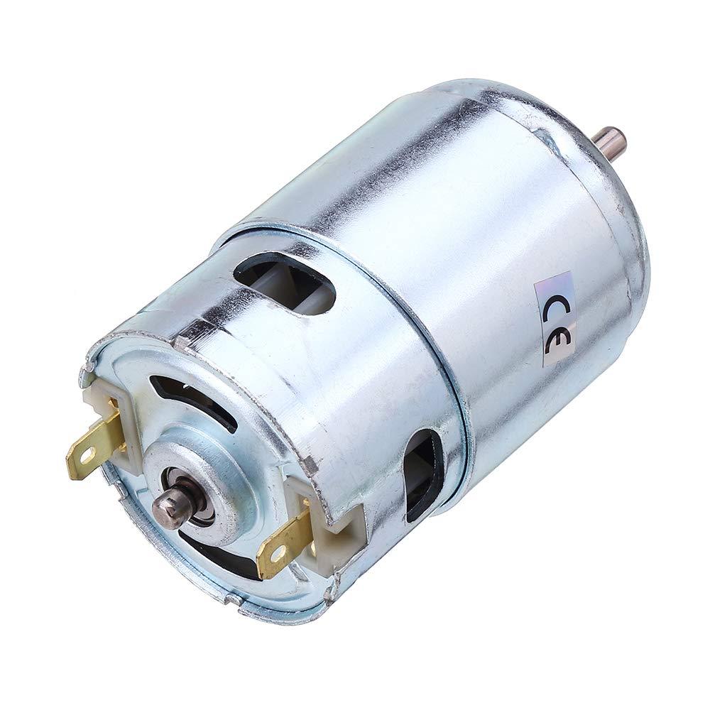 #6 ChaRLes Machifit 775 795 895 Motor//Motor Soporte Dc 12V-24V 3000-12000Rpm Motor Gran Par Engranaje Motor