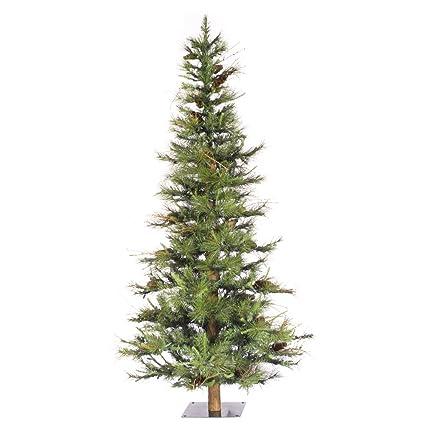 9bd00be805fec Amazon.com  Vickerman 4  Unlit Ashland Artificial Christmas Tree ...