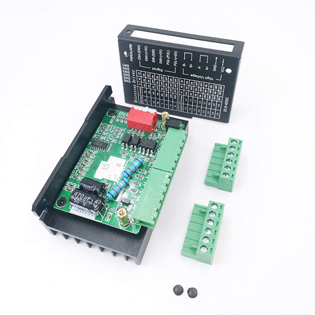 TB6600 4A Stepper Motor Driver 32 Segments DC 9-40V 4.0A Suitable for 42//57//86 Type 2-Phase 4-Phase Stepper Motor