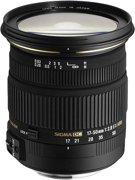 Sigma DC - Objetivo para Nikon (17-50mm, f/2.8, estabilizador, 77 ...