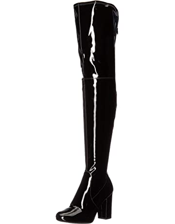 5d888dbae9fa Kenneth Cole New York Women s Angelica Thigh-high Heeled Boot Over The Knee