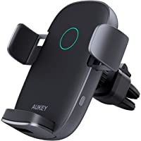 Deals on AUKEY Wireless Car Charger 10W Qi Fast Charging