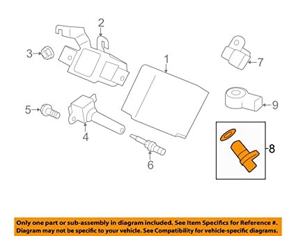 Amazon com: Subaru 22056 AA210, Engine Camshaft Position Sensor