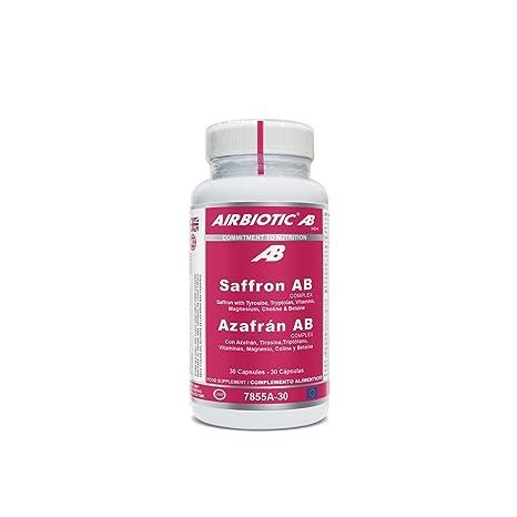 Airbiotic AB - Azafrán AB Complex, Hierbas, Suplementos para Ansiedad y Estado de Ánimo