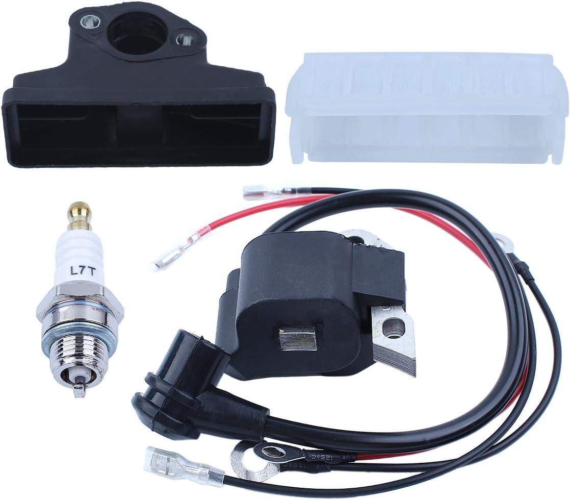 Haishine Kit de bujía de Encendido de la Bobina de Encendido magnética de para STIHL 021 023 025 MS210 MS230 MS250 Repuestos de Motosierra