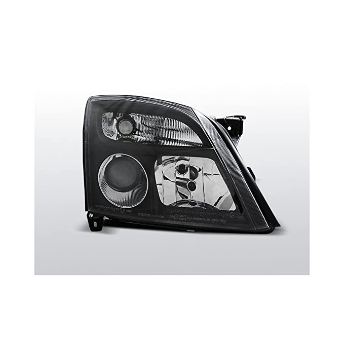 Color Negro de Cristal Transparente Faros AD Tuning GmbH /& Co.KG 960666