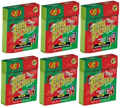Jelly Belly Naughty or Nice Bean Boozled Refill 6-Pack