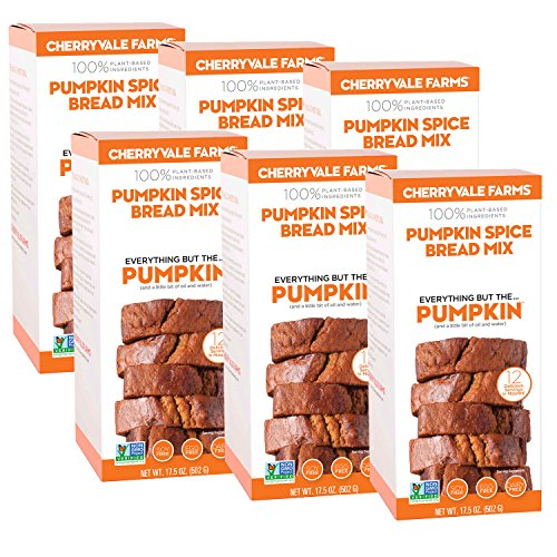 (Cherryvale Farms, Pumpkin Spice Bread Baking Mix, Everything But The Pumpkin, 17.5 oz (pack of 6))