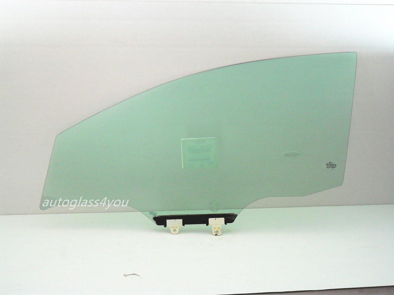 Compatible with 2013-2019 Nissan Sentra 4 Door Sedan Driver Side Left Front Door Window Glass