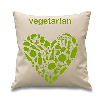"""Amazon.com: Tribal T-Shirts Vegetariana relleno de 18"""" ..."""