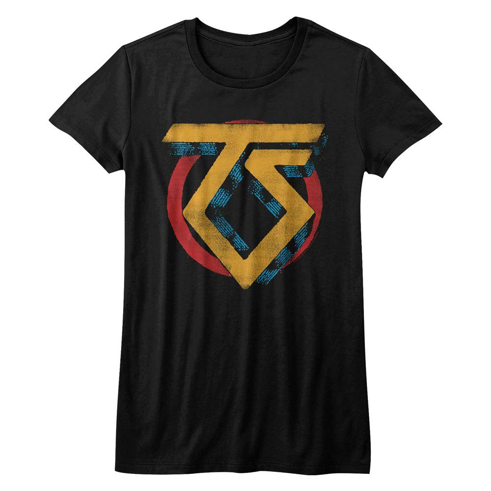 Twisted Sister Heavy Metal Band Vintage Ts Logo T Shirt Tee