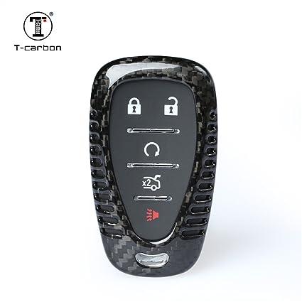 Amazon com: Carbon Fiber Key Fob Cover For Chevrolet Key Fob