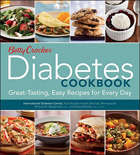 Betty Crocker Diabetes Cookbook: Great-tasting, Easy Recipes for Every Day (Betty Crocker Cooking) by Betty Crocker