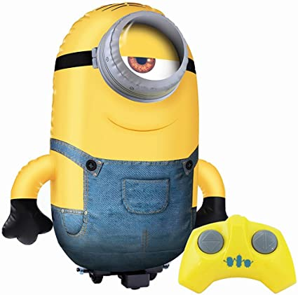 Amazon.es: btmm-mix. S Jumbo hinchable RC Stuart Minion nuevo