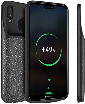 BasicStock Funda Batería Huawei P20 Lite/Nova 3e, 4700mAh Batería ...