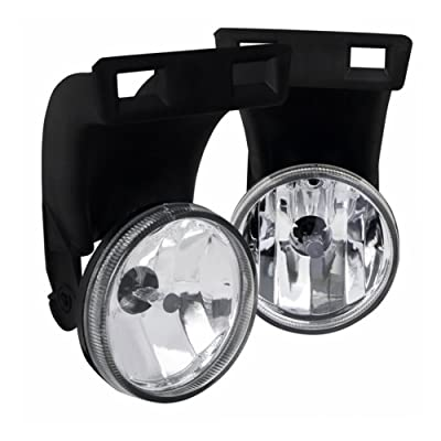 AUTOSAVER88 Fog Lights Compatible with 1994-2002 Dodge Ram 1500 2500 3500 Pickup Truck (Clear Lens w/Bulbs)(Only fit Without Sport Package model): Automotive [5Bkhe1003554]