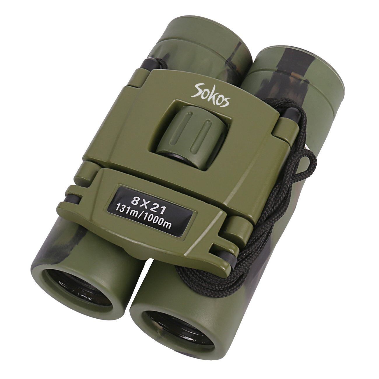 Kids Binoculars, 8x21 Kids Gifts Folding Spotting Telescope Binoculars For Bird Watching, Hiking and Educational Learning, Toys for Boys and Girls