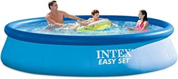 Intex 12ft x 30ft Easy Set Inflatable Ground Swimming Pool Pump & Filter