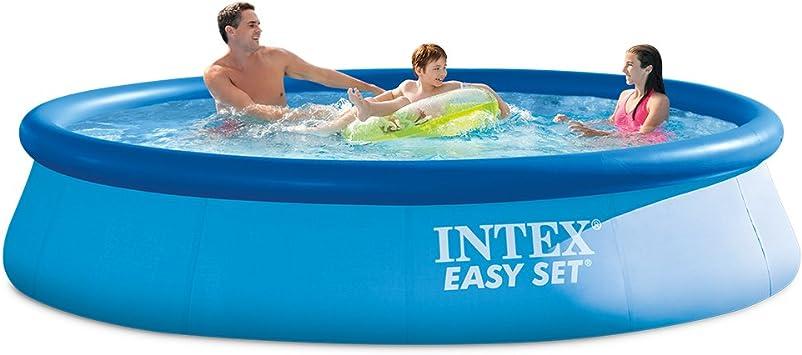 Intex Easy Set Círculo Azul - Piscina (Círculo, Azul, 7 Personas(s ...