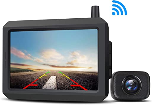 AUTO-VOX W7 Cámara de marcha atrás digital inalámbrica con ...