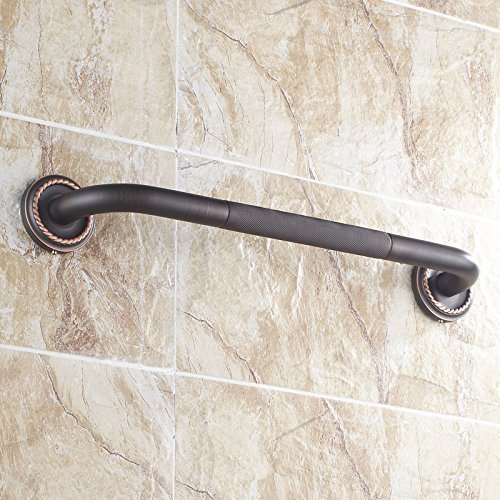 Fapully 100407B 19.5 Inch Grab Bar Bath&Shower Handle,Oil Rubbed Bronze 30%OFF