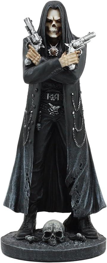 Amazon Com Ebros Assassin S Creed Hooded Grim Reaper Skeleton