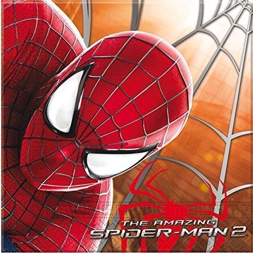 Amazing Spider-Man, tovaglioli, confezione da 20 Unique Party 71902