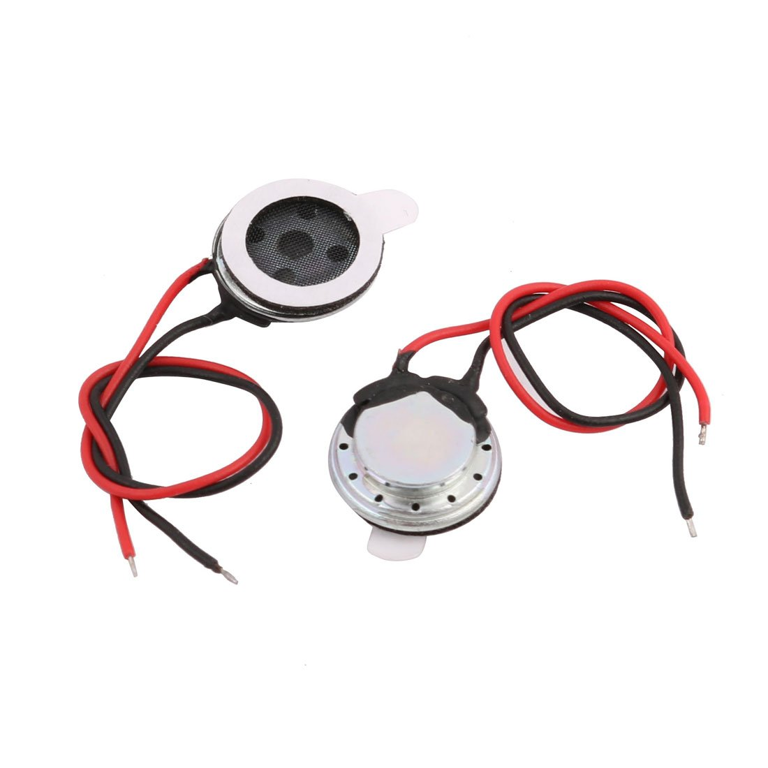 uxcell 2 Pcs 10mm Diameter Built-in Speaker 8 Ohm 1W 1000Hz for PC Computer