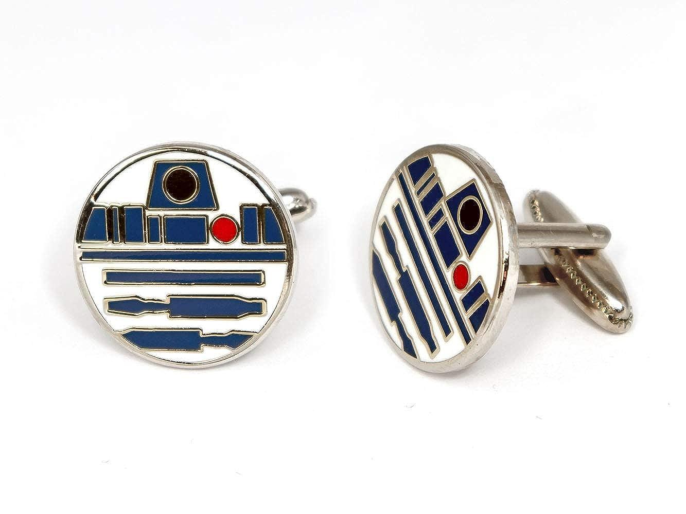 Jedi Tie Tack Jewelry Kylo Stormtrooper Death Star Gift SharedImagination R2D2 Cufflinks Star Wars C3PO Wedding Party Groomsman Gifts Star Wars Cufflinks Star Wars Tie Clip Darth Vader Cuff Links