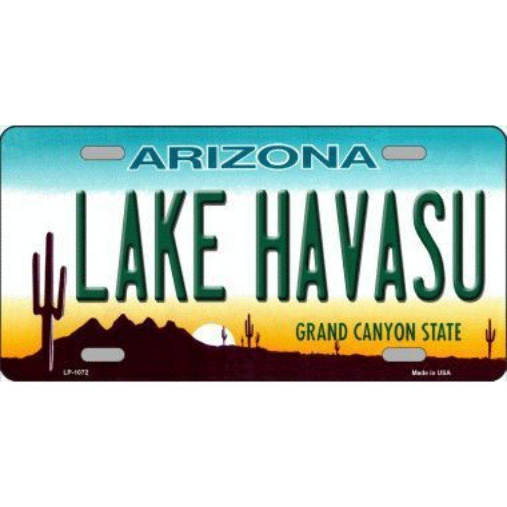 Smart Blonde LP-1072 Lake Havasu Arizona Novelty Metal License Plate
