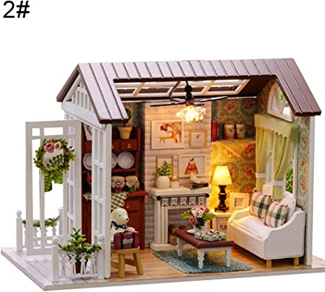 Horses /& Hounds Miniature Dollhouse Doll House Picture